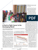 Enserink_2011 - A Push to Fight Cancer in the Developing World