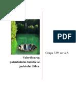 Valorificarea potentialului turistic al judetului Bihor.docx