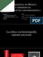 La Historia Regional en México