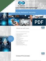 Enabling Network Security 1.0
