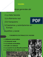 Los fascismos diapositiva