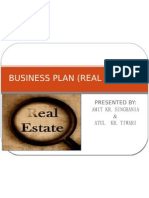 Business Plan (Real Estate)