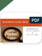 Business Plan (Real Estate)