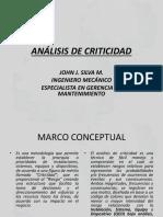 ANÁLISIS DE CRITICIDAD 21