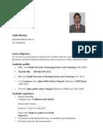 Anika new resume