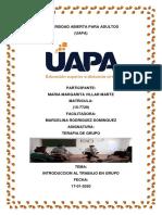 TERAPIA DE GRUPO TAREA 1