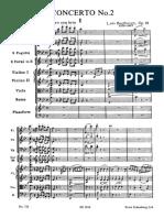 Concerto per pianoforte e orchestra no. 2 op. 19 - L. van Beethoven