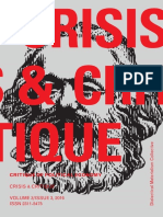 Crisis & Critique - Critique of political economy (volume 3 - issue 3)
