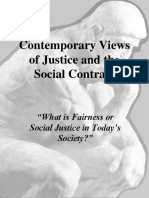 Contemporary Views of  Justice and the Social Contract.ppt