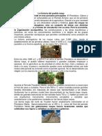 La Historia Del Pueblo Maya