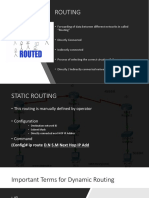 Lecture2 Routing