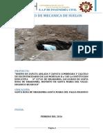 ESTUDIO DE SUELOS INSTITUCION N°32743