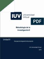 5. GUIA PARA LA INTEGRACÓN DEL PROYECTO Metodología II-2