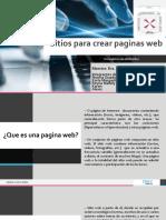 2 Sitios parear painas web