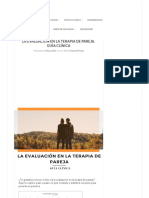 La Evaluación en la terapia de pareja. Guía Clínica.pdf
