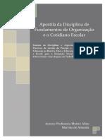 IBF - Apostila da Disciplina deFundamentos de Organização e o Cotidiano Escolar.pdf