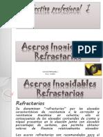 ACEROS INOXIDABLES REFRACTARIOS