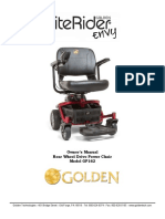 Golden - Owners's Manual - LiteRider Envy (1)