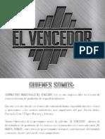 CATALOGO BOTAS EL VENCEDOR