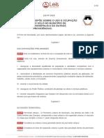 Lei Uso e Ocupação Divinópolis