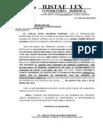 solicitud de peritaje 754-2018