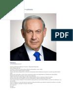 DISCURSO DEL PRIMER MMINISTRO DE ISRAEL