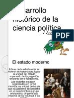 CIENCIA POLITICA EN EL ESTADO MODERNO