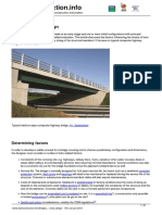 Bridges - initial design
