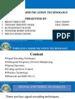 Lec # 7 - Wireless communication Technology-Group 3