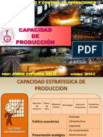 CAPAC PRODUCC UNI 2019-2