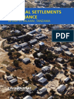Informal Settlements and Finance in Dar es Salaam, Tanzania