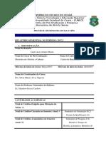 Relatório Semestral Bolsista CAPES 2017.2