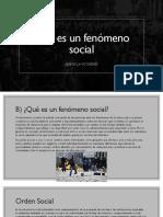 Diapositivas que es un fenomeno social