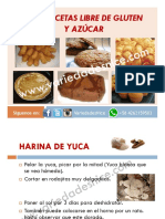 GUIA RECETAS LIBRE DE GLUTEN Y AZUCAR VARIEDADES NICE