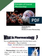 Basic Principles General Pharmacology