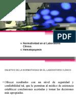 3. Normatividad y hematología.pptx
