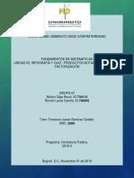 INFOGRAFIA DE FACTORIZACION Y PRODUCTOS NOTABLES