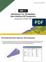 ANSYS_HFSS_W03_11_3D_Modeler_parameterized_horn