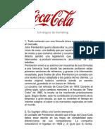 Estrategias de marketing de coca-cola