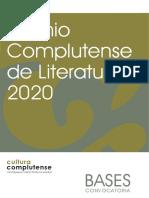 Premio Complutense 2020
