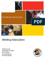 Watsonville CA Welding Fabrication Brochure