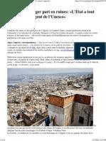 Mediapart_La Casbah d'Alger Part en Ruines_ «L'Etat a Tout Volé, Même l'Argent de l'Unesco»