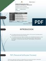 Modelos de procesos PSP Y TSP