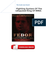 Fedor The Fighting System Of The World S Undisputed King Of Mma Ebooks Gratuits