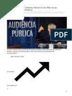 2019_NOV. A censura fake de Caetano Veloso e Caio Blat vai ao Supremo Tribunal Federal