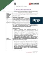 Ficha técnica de Curso