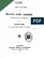 Estudios Criticos De Historia Arabe Espanola Tomo1
