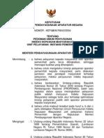 2004-KEP-MENPAN-025-Ped Umum Penyusunan Indeks Kepuasan Masyarakat Unit Pelayanan Instansi Pemerintah