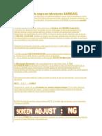 Solución Pantalla negra en televisores SAMSUNG..docx
