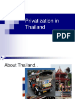 Privatization in Thailand.ppt